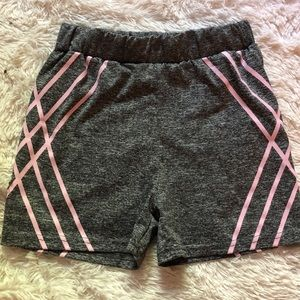 🌈5/$25🌈 gray and pink geometric striped spandex